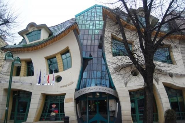 Casa ondulată, Sopot, Polonia